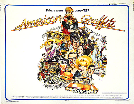 Click to see more info on 'American Graffiti'